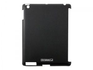 Coque de protection SmartShell Cool Bananas en silicone pour iPad (Noir)