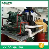 6T Screw Compressor ICE Maker with Water Cooler