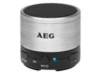 Haut-parleur Bluetooth AEG Sound System BSS 4826 Argenté