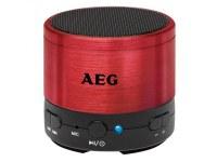 Haut-parleur Bluetooth AEG Sound System BSS 4826 Rouge