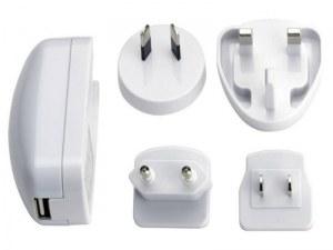 Chargeur universel de voyage Ednet USB (Blanc)