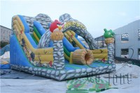 Popular inflatable combo slide combo inflatable jumper combo on sale!!!