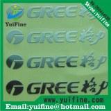 Customize Logo Electroformed Thin Metal label Name Plate Adhesive nickel sticker namepl...