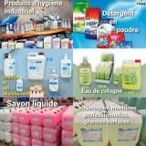 Lingettes desinfectantes antibactérienne et virucide, détergents liquide et en poudre...