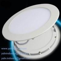 Spot de panneau rond LED, ultra-mince SMD bas de la lumière, l'éclairage ultra mince de...