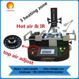 WDS-4860 BGA rework station Hot Air Infrared BGA Reball Solder Station Smart Precious...