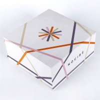 Folding Herbal Cosmetics Magnetic Boxes Cardboard Packaging Gift Paper Box