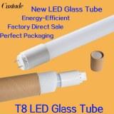 Un tube de verre de la lampe T8 del 600mm 900mm 1200mm