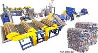 PET bottles recycling machine line