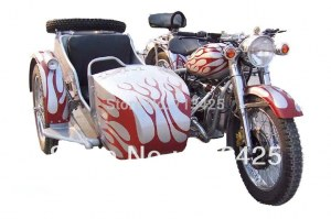 Flame Changjiang750cc 24hp motorcycle with sidecar