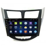Hyundai Navigation Android Quad Core GPS Verna / Accent / Solaris 9 pouces