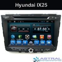 Usine Android 2 Din Auto Radio Navigation Hyundai IX25 voiture DVD GPS
