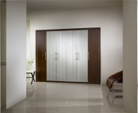 Customized MFC Ready Made Bedroom Furniture Wardrobe