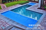 Automatic soft swimming pool cover