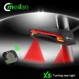 Lumière de vélo Feu arrière accessoires X5 cycle