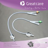 2-Way All Silicone Foley Catheter (standard / plastic valve)