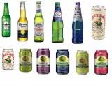 Heineken 330ml/250ml, Corona 330ml/355ml, Peroni, Moretti, Kronenbourg