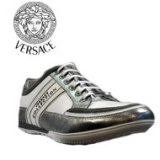 LOTS DE 6 BASKET VERSACE BLANCHES COLLECTION HOMME