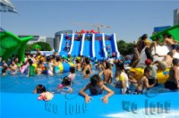 Good quality wholesale price inflatable water park for sale
