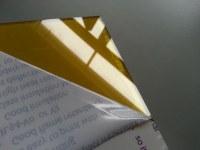 Custom made yellow/orange polycarbonate sheet factory/100% virgin Lexan/Makrolon resin/...