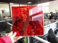 Custom high cast red acrylic sheet/acrylic laser cutting/acrylic fabrication