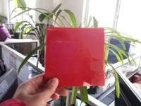 Custom high cast solid red acrylic sheet/acrylic laser cutting/acrylic fabrication