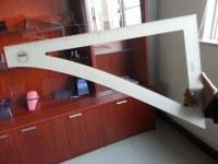 Acrylic set square/Acrylic ruler/China factory