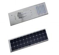 60W haute efficacité intégré la lumière solaire de rue LED pour l'éclairage de la chaussée