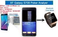 XF Blue-Tooth Watch Pour Samsung Galaxy Note 7 Pk King 708 Poker Analyseur Pour Voir Le...