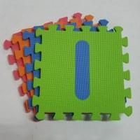 Melors EVA Ensemble de puzzle de numéro d'interverrouillage pour bébé