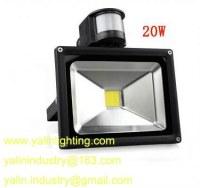 Détecteur de mouvement Projecteur LED, capteur de lumière d'inondation de LED PIR, 20W...