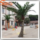 Chinese new green outdoor PE leaves artificial plants artificial coconut palm trees for...