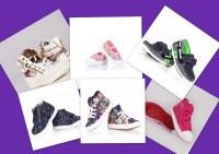 Lot de chaussures pour les enfants