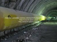 Plat PVC de conduit d'air pour tunnel et des mines