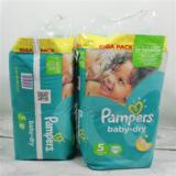 Pampers Baby Dry 108 pc. N°5 (11-25 kg)