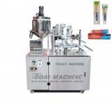 Machine automatique de cachetage de tube de remplisseur de crème cosmétique de remplissage de dent