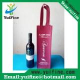 Wine Bag Non Woven Fabric Bag Reusable Cloth Bag Handbag Nonwoven Promotion Bag/Adverti...