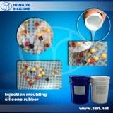 Caoutchouc de silicone transparent