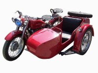 Beautiful shape Left handed 250cc motorcycle sidecar for sale