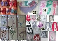 URGENT Lots bijoux et accessoires 2€, 3€, 3€50