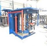 Fourniture d'usine de four à induction à fusion de métal à moyenne fréquence