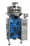 Plein automatique de pesage et d'emballage deux dans une machine