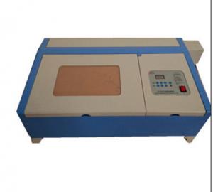 KL-320 50W high grade laser stamp machine, laser engraving cutting machine from China