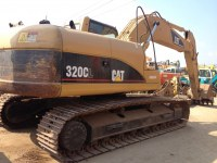 Used CAT Crawler Excavator 320C,46000usd