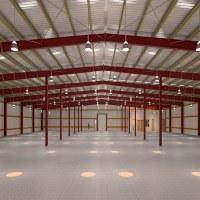 Entrepôt de structure métallique avec du CE en Chine à vendre