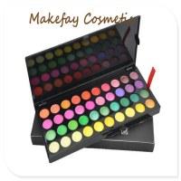 Vente chaude gros maquillage 120 couleurs fard à paupières palette de maquillage Kit P1...