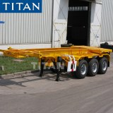 How to operate a container chassis trailer?