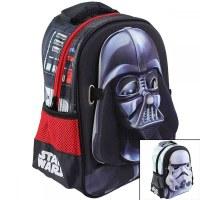 3x Sacs à dos 3D Star Wars 31x22 avec un masque