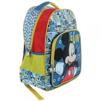 3x Sacs à dos Mickey Mouse 32x43x18