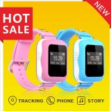 GPS watch tracker for kids with two-way communication and sos alarm function smart watc...